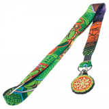 Teenage Mutant Ninja Turtles Pizza Lanyard