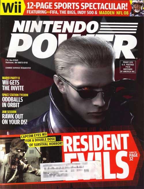 Nintendo Power Volume 217 Resident Evil Wii