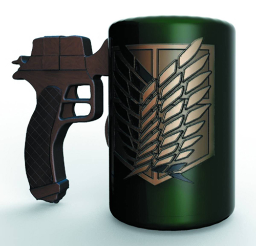 Attack on Titan 3D Maneuvering Gear Handle Molded Mug