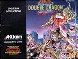Double Dragon II: The Revenge (Instruction Manual)