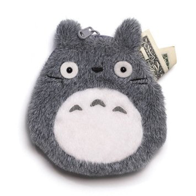 My Neighbor Totoro Coin Purse Gray