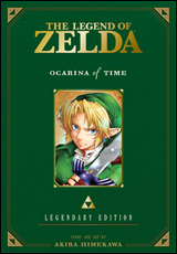 Legend of Zelda Ocarina of Time Legendary Edition Graphic Novel
