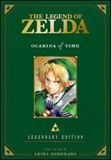 Legend of Zelda Ocarina of Time Legendary Edition Graphic Novel