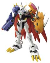 Digimon Omegamon Model Kit