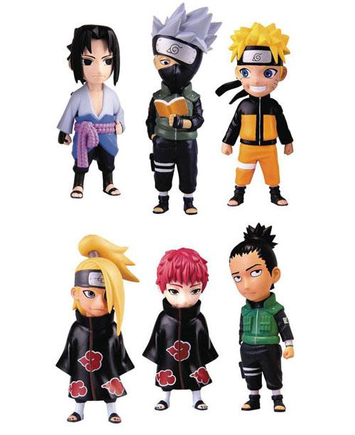 Naruto Shippuden Mininja Figurines Series 1