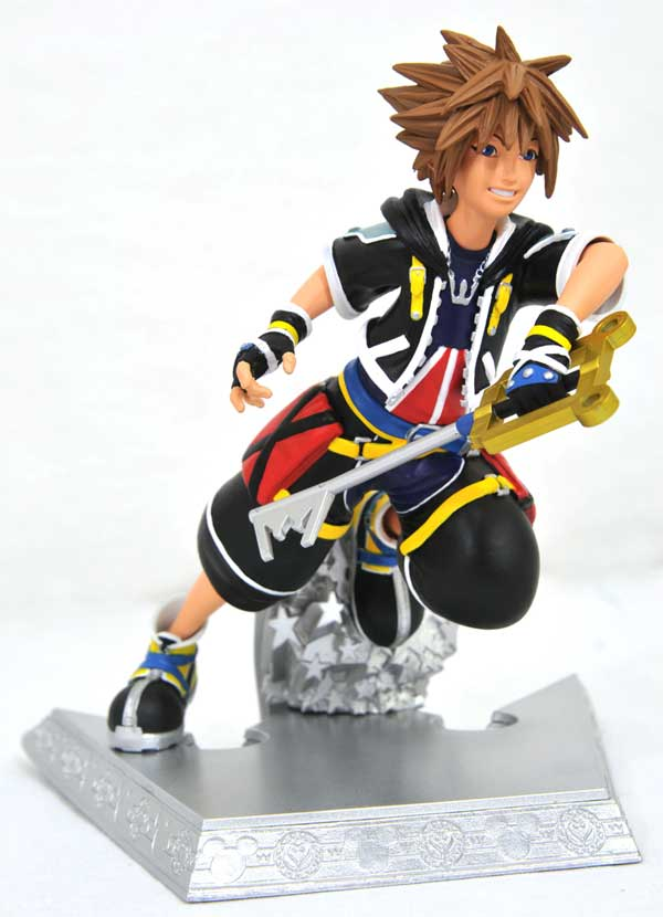 Kingdom Hearts Gallery Sora PVC Figure alternate angle