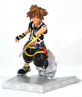 Kingdom Hearts Gallery Sora 7 Inch PVC Figure