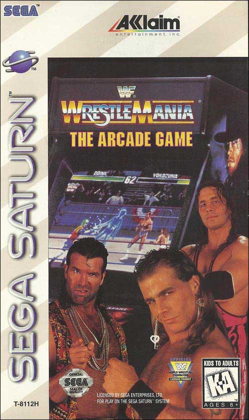WWF Wrestlemania: Arcade Game