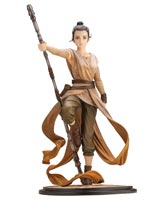 Star Wars Artist Series: Descendant of Light Rey ArtFX+ Statue