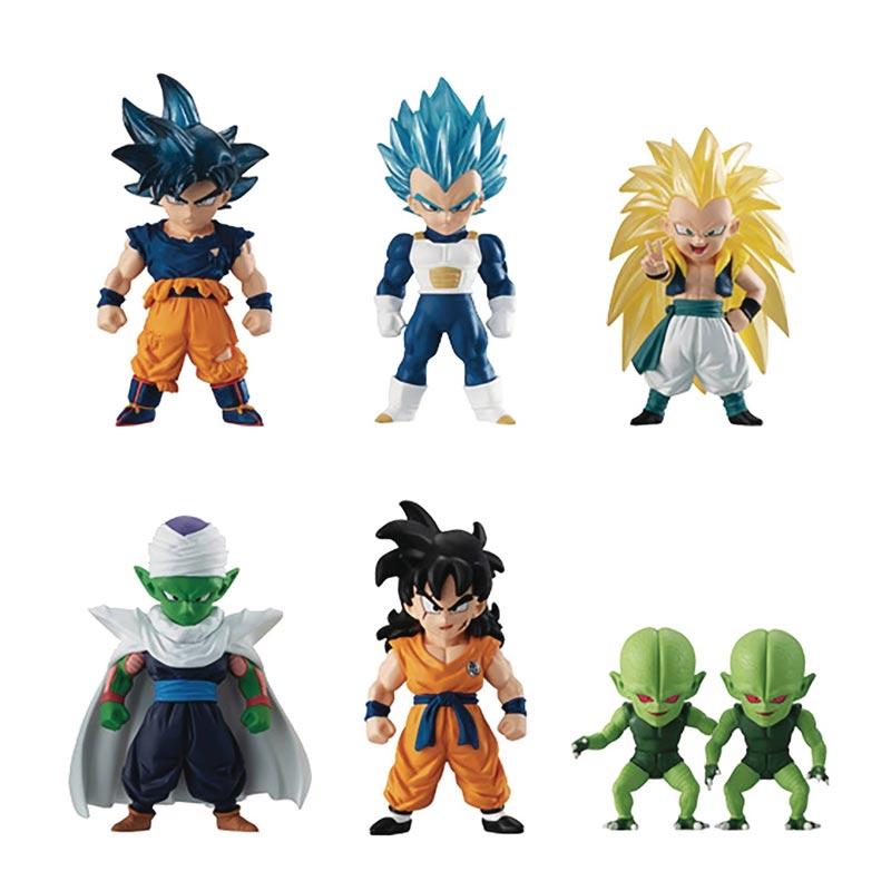 Merch Dragon Ball Super Adverge 11 Mini Figures all items