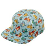 Pokemon Gen 1 Starters All Over Print Sublimated Snapback Hat