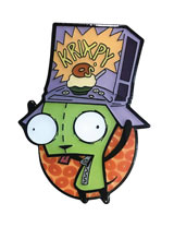 Invader Zim Girs Cereal Hat Pin