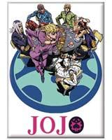 Jojo's Bizarre Adventure Season 4 Magnet White Design