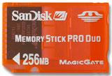 PSP 256 MB Memory Stick Pro Duo