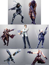 Metal Gear Solid 2 Konami Figure Collection Series 1 Set