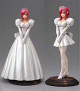 Please Teacher!: Mizuho in a White Wedding Dress PVC Statue