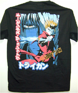 Trigun Wanted Gunner T-Shirt LG