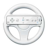 Wii Wheel (White) by Nintendo