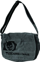 Gears of War Logo Grey Messenger Bag