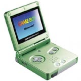 Nintendo Game Boy Advance SP Pearl Green Limited Edition