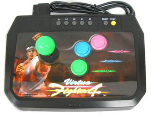 PS2 Virtua Fighter 4 Arcade Stick