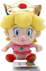 Nintendo Baby Peach 5 Inch Plush