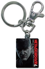 Metal Gear Solid 4 Metal Snake Key Chain