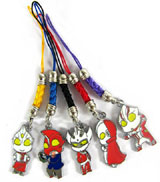 Ultraman: 5 Phone Charms Set