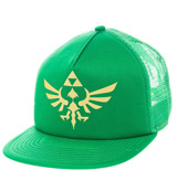 Legend of Zelda: Skyward Sword Triforce Green Snapback
