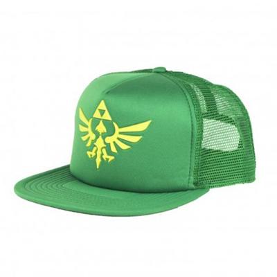 Zelda Skyward Sword Triforce Green Trucker Cap