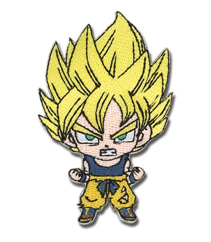 Dragon Ball Z SD Super Saiyan Goku Patch