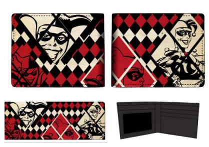 Batman Harley Quinn Bi-Fold Wallet