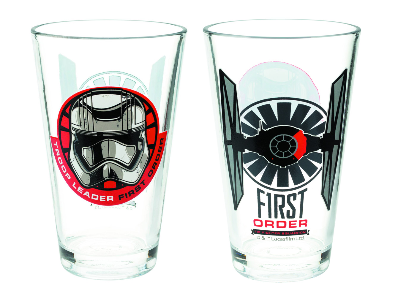 Star Wars First Order 10oz Glass Tumbler