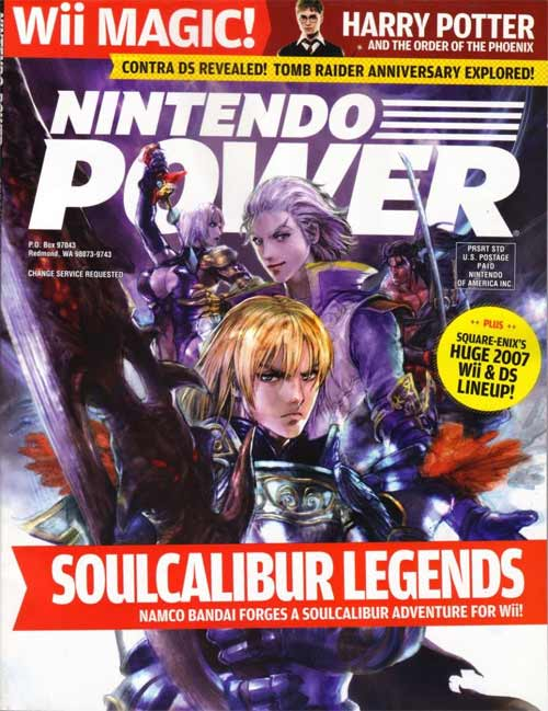Nintendo Power Volume 218 Soul Calibur Legends