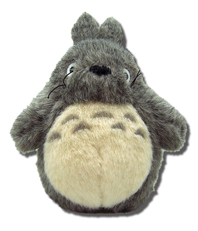 My Neighbor Totoro 8 Inch Plush Grey