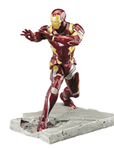 Captain America Civil War: Iron Man Mark 46 1/10 Scale Statue