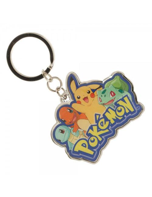 Pokemon Multi Character Metal Keychain