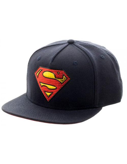 DC Comics Superman Chrome Weld Snapback