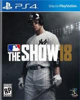 PS4 MLB 18 The Show Boxart