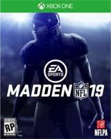 Xbox One Madden NFL 19 box art