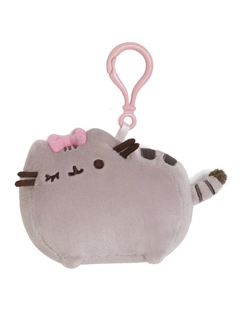 Pusheen Bow Backpack Clip