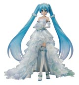 Hatsune Miku Character Vocal Series 01 Wedding Dress 1/7 Scale PVC Figure