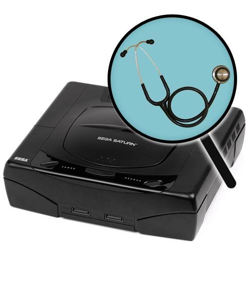 Sega Saturn Repairs: Free Diagnostic Service
