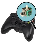 Xbox 360 Repairs: Controller Single Analog Joystick Replacement