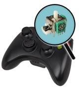 Xbox 360 Repairs: Controller Single Analog Joystick Replacement