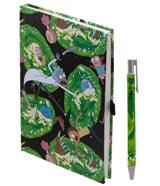 Rick & Morty Portals Journal with Pen Set