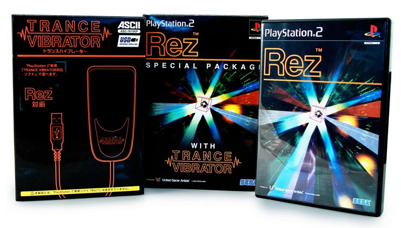 PS2 Rez Special Package all items