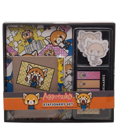 Aggretsuko Office Supply Set
