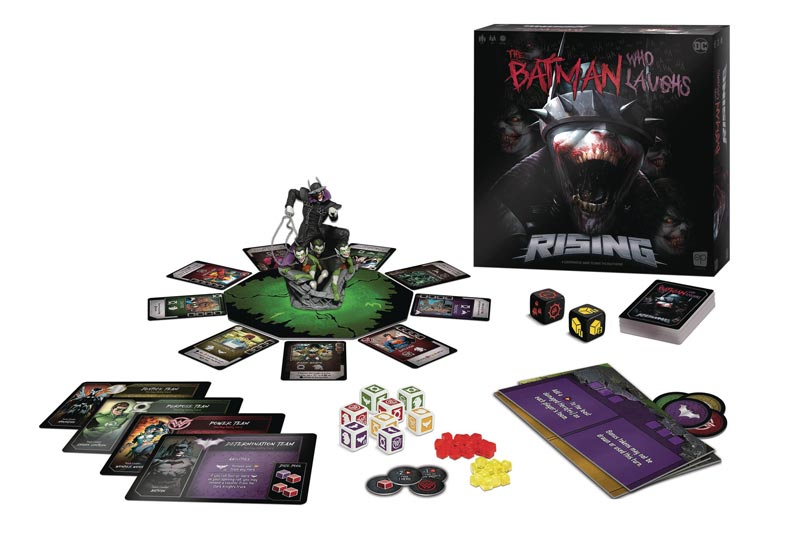 Batman Who Laughs Rising Board Game extra img