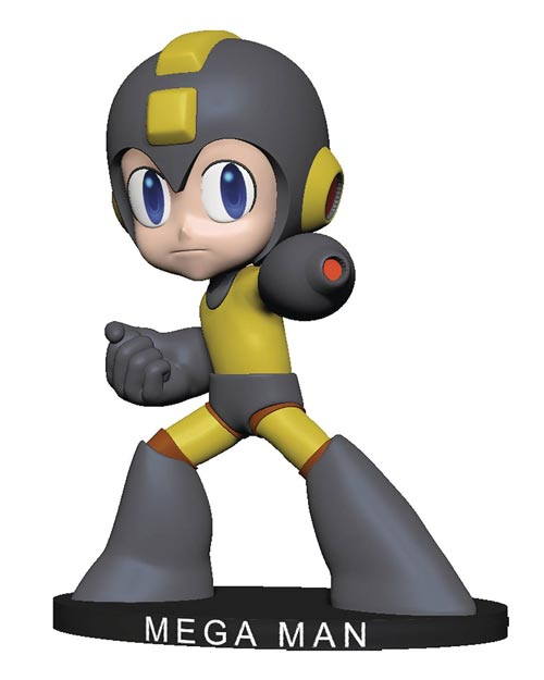 Mega Man Thunder Wool Bobblehead